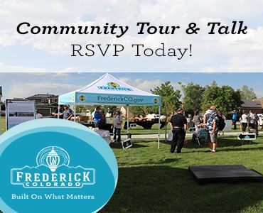 Community Tour and Talk picture with headline to RSVP