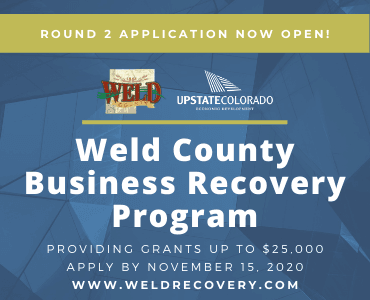 graphic for Weld Business Recovery Program
