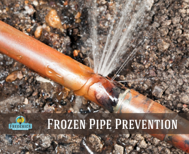 Frozen Pipe Prevention