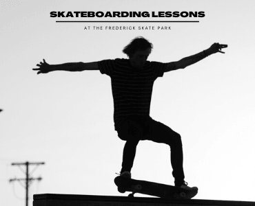Skateboard lesson picture